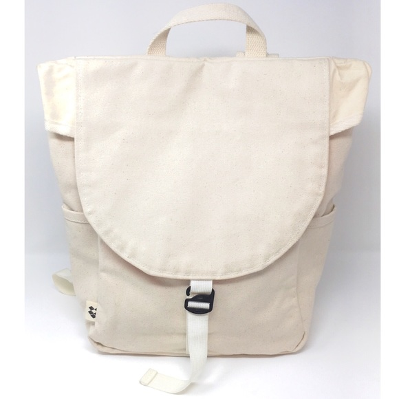 de6f122137d5 Madewell Handbags - JOSHU + VELA Stone Canvas Backpack